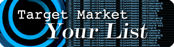target market your direct mail list