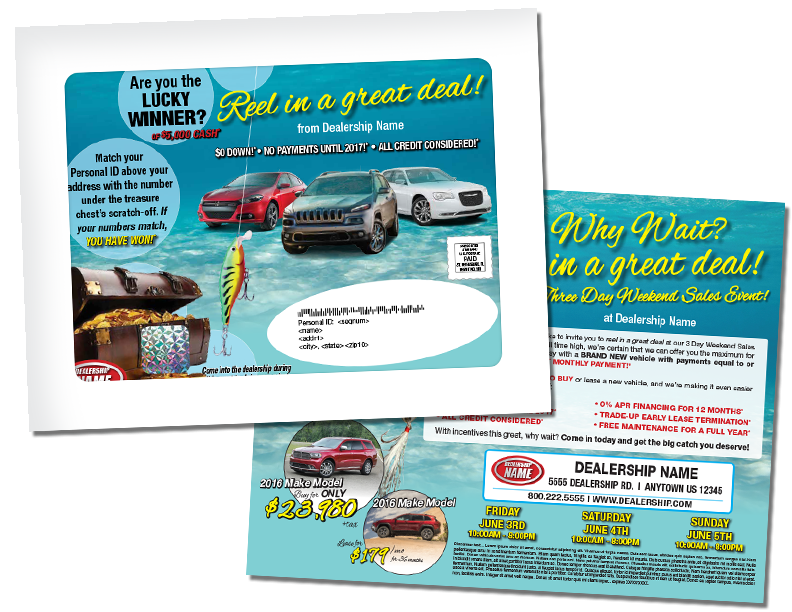 Full Window Direct Mail Package Brings BIG Returns