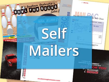 direct mail classic self mailers