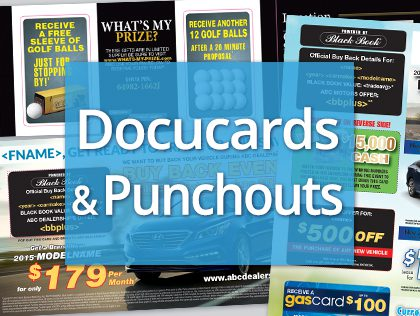 fl direct mail docucard and punchout