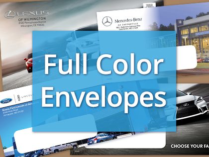 full color envelope direct mail fl, direct mail mn