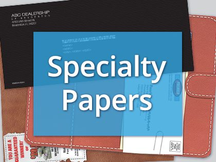 specialty paper stock FL