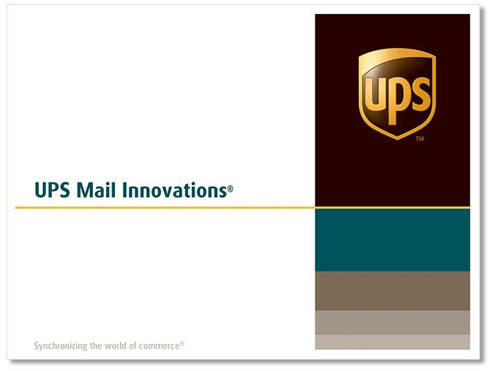 UPSMI Direct Mail Envelope