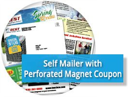 Direct Mail Letter Magnet Coupon