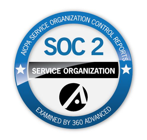 jpg 360 Advanced SOC 2 Seal of Completion