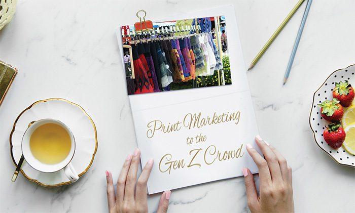 Print Marketing GenZ Crowd