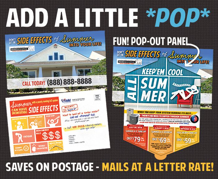 Die-Cut Pop Mailer House, Tent, Mailbox, etc