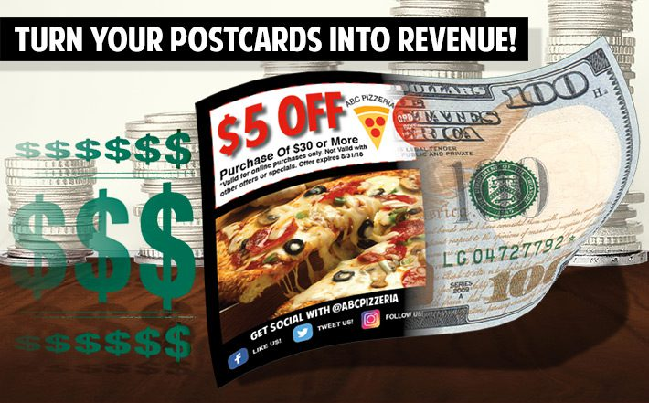 make money with direct mail postcards