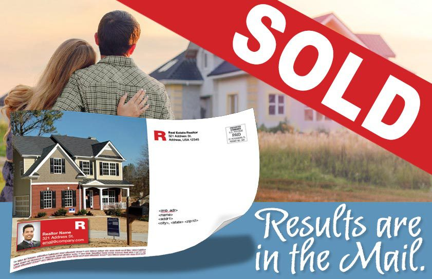 sold sign realtor house direct marketing
