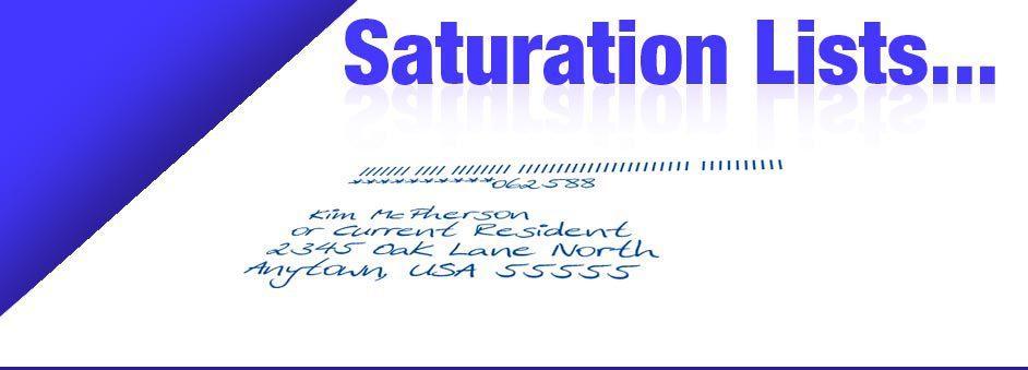 Saturation Lists Direct Mail Image