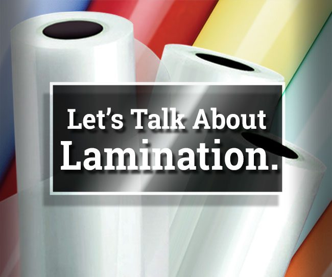 Laminate Rolls Graphic Linked to Lamination Page