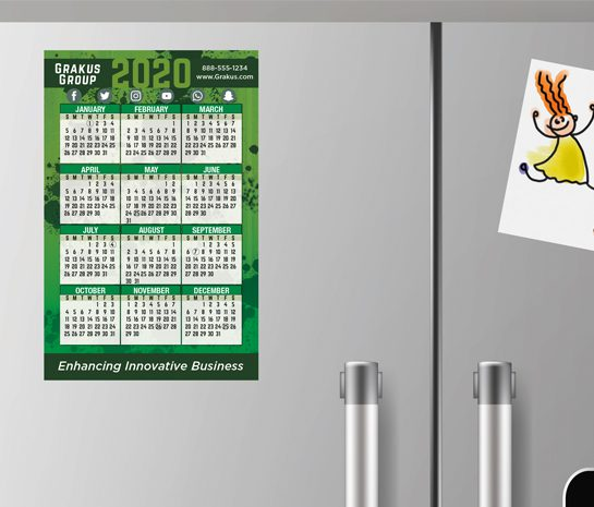 magnet calendar, fridge magnet, locker calendar