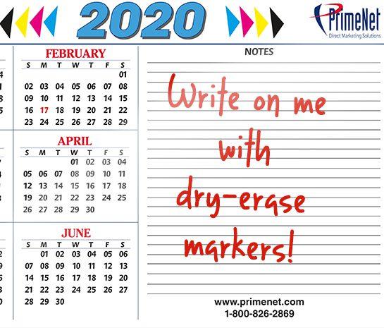 dry erasable calendar, laminated printing, laminate calendar