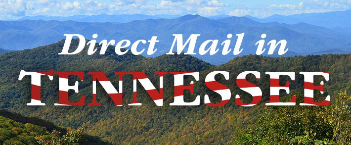 Direct mail in Tennesee, Postcard Printing near Nashville, Mail for Memphis