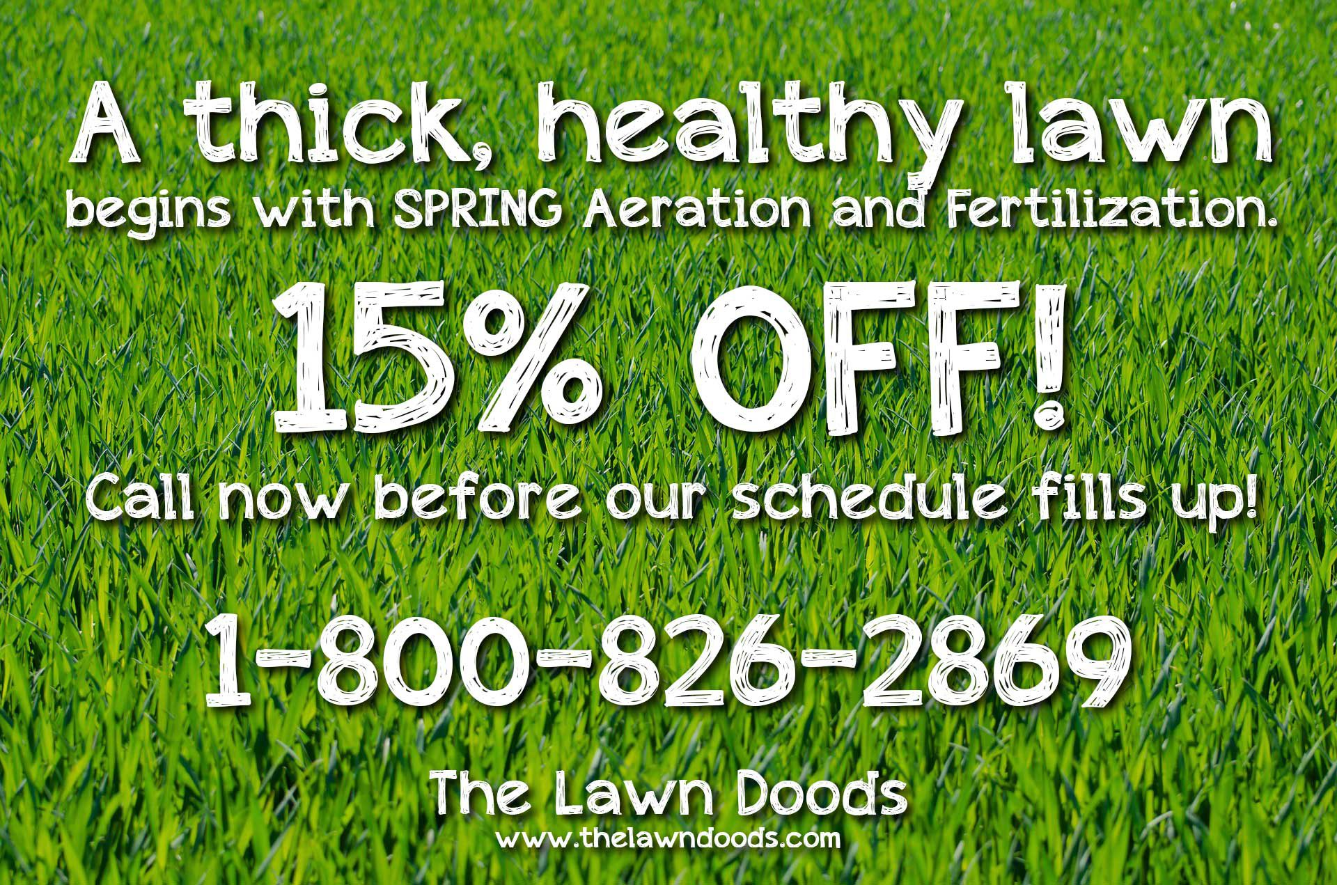 Lawn Care Spring Maintenance Blog