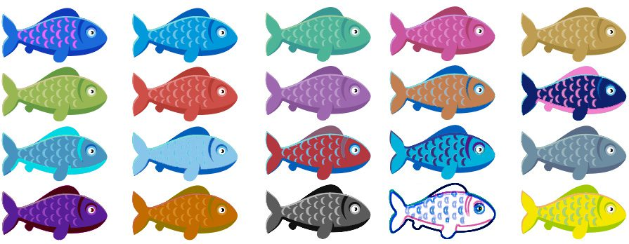 duplicate data direct mail blog fish image
